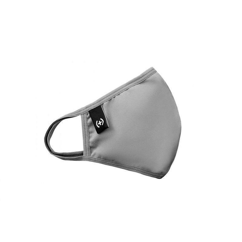 Маска однотонная от Sammy Icon Grey mask серого цвета