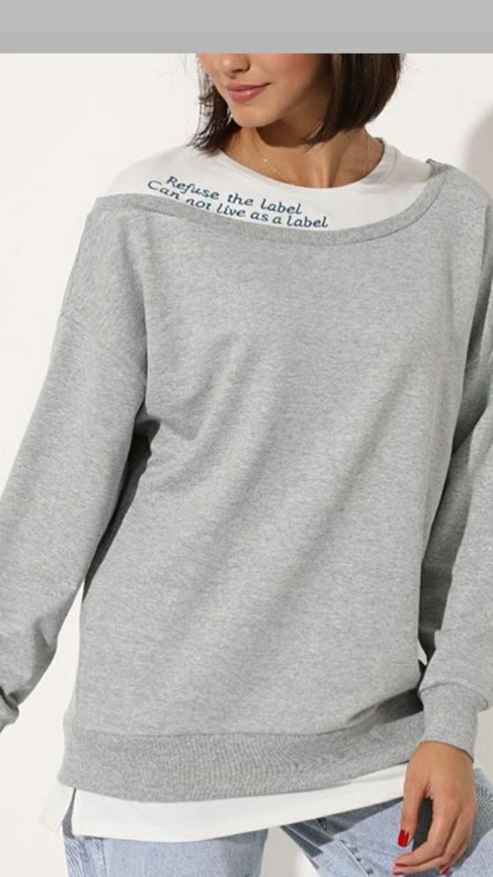 Стильний жіночий пуловер Туреччина SML (в кольорах)