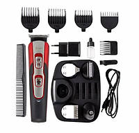 Машинка для стрижки волос 10 в 1 триммер для бороды носа электробритва gemei592