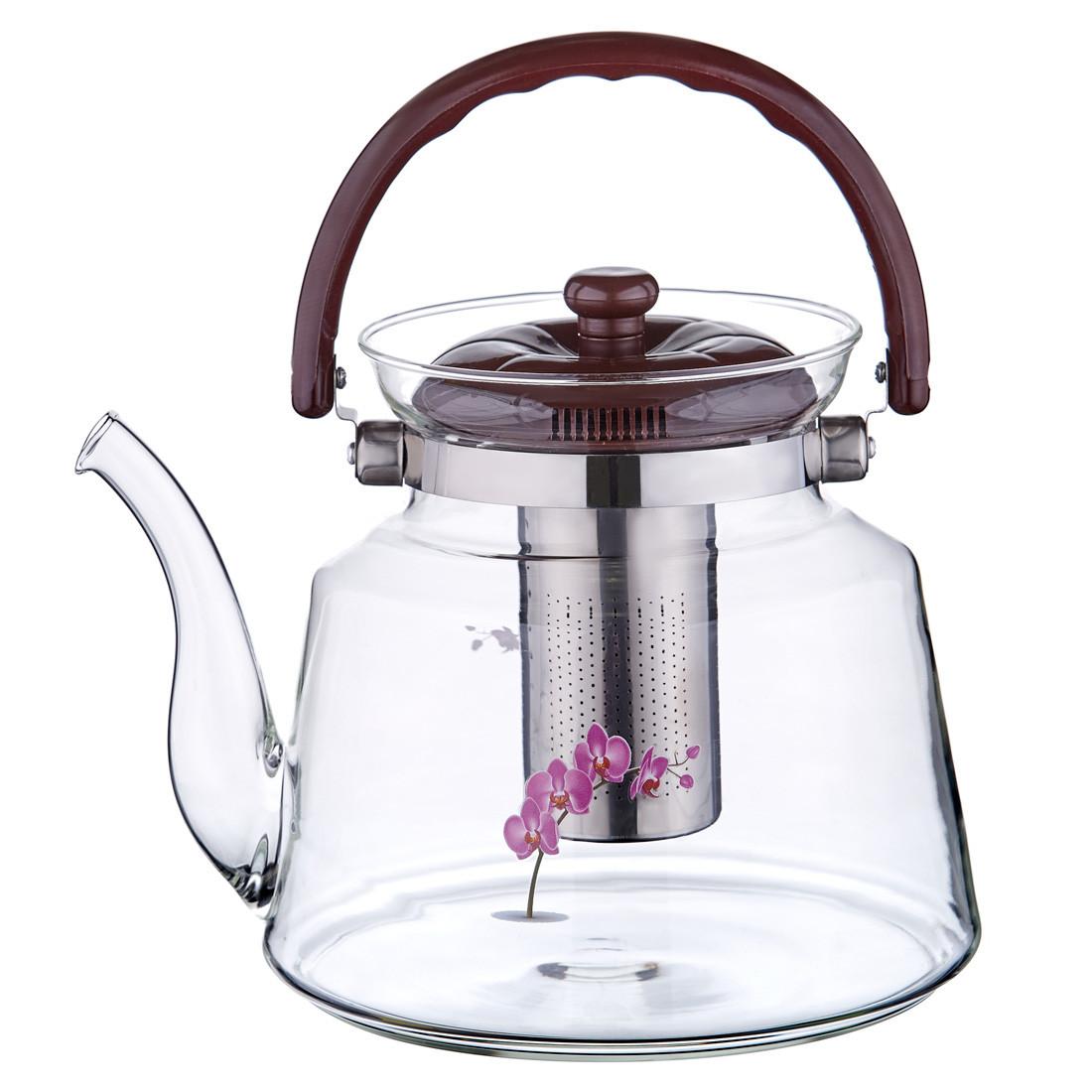 Чайник заварювальний 3 л Орхідея 116/F43