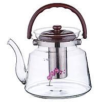 Чайник заварювальний 3 л Орхідея 116/F43, фото 1