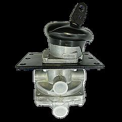 Кран тормозной 2-х секционный с рычагом КАМАЗ 100.3514008-02.