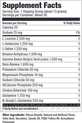 После тренировочный комплекс аминокислот Ultimate Nutrition Post Gold 30 порц. (уценка), фото 2