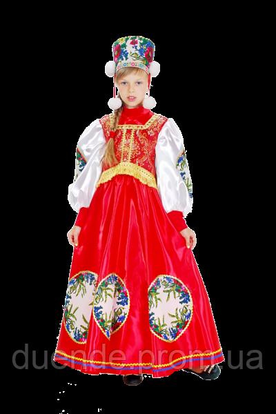 Боярыня национальный костюм для девочки 146-152 / BL -  ДН54
