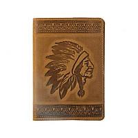 Кожаная обложка на паспорт с узором тиснением. Ассортимент. Украина. Качество. женские и мужские Телячья кожа, Хаки