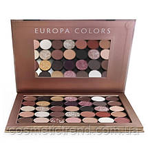 Палетка тіней для повік Huda Beauty New Nude Europa colors (35 кольорів на магнітах)), фото 2