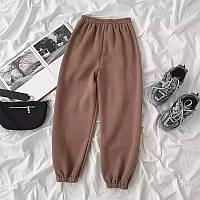 Спортивные штаны женские Турция, трикотаж 2-х нитка, фото 1