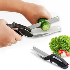 Розумний кухонний ніж і кухонні ножиці 2в1 Clever Cutter