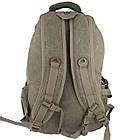 Брезентовий(джинсовий) великий рюкзак GoldBe! на 50л, фото 8