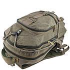Брезентовий(джинсовий) великий рюкзак GoldBe! на 50л, фото 5