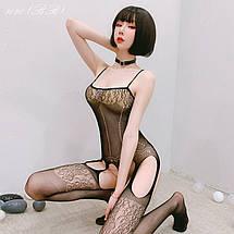 Жіноча нижня білизна, еротичний бодистокинг 8020 (ВВ), фото 2