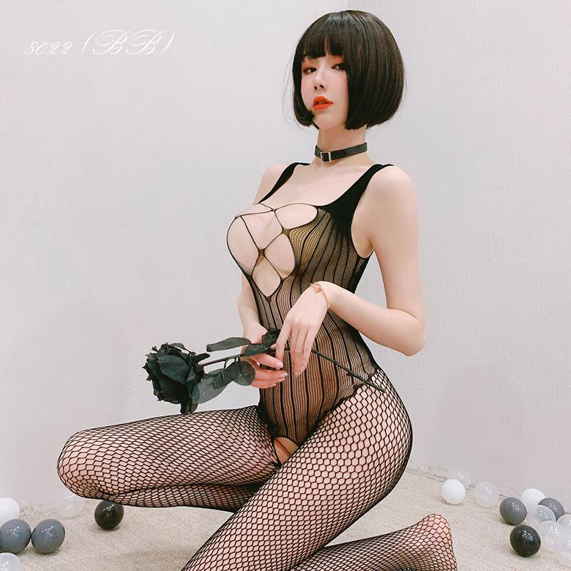 Жіноча нижня білизна, еротичний бодистокинг 8022 (ВВ)