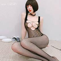 Жіноча нижня білизна, еротичний бодистокинг 8022 (ВВ), фото 3