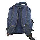 Брезентовый(джинсовый) средний рюкзак GoldBe!, фото 6