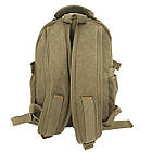 Брезентовый(джинсовый) малый рюкзак GoldBe!, фото 4
