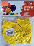 Воздушные шары (984) америка Желтый 2,8г 30см 10штук уп12