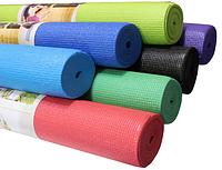 Коврик для йоги, фитнеса, пилатеса, растяжки (YOGA MAT), 4 mm