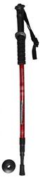 Палки для скандинавской ходьбы,  трёх секционные, телескопические, красные