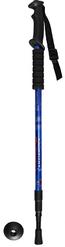 Палки для скандинавской ходьбы, трёх секционные,телескопические,  синие