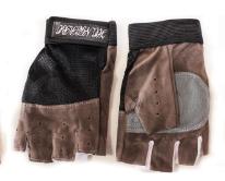 Перчатки  для фитнеса и спорта, антискользящие, SANTOLY серые