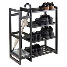Тумба для взуття GoodsMetall металева в стилі Лофт 750х650х350 ПО102