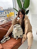 """Рюкзак жіночий на блискавці, розмір 36×29 см """"MILANA"""" недорого оптом від прямого постачальника"""