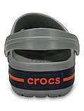 Подростковые кроксы Crocs Crocband Clog серые 38 р., фото 5