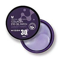 Патчи для глаз с морским коллагеном Mizon Collagen Eye Gel Patch, 60 шт