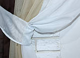 Комплект кухонні шторки з підв'язками №54, фото 7