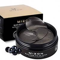 Гидрогелевые патчи с экстрактом черного жемчуга Mizon Black Pearl Eye Gel Patch, 60 шт.