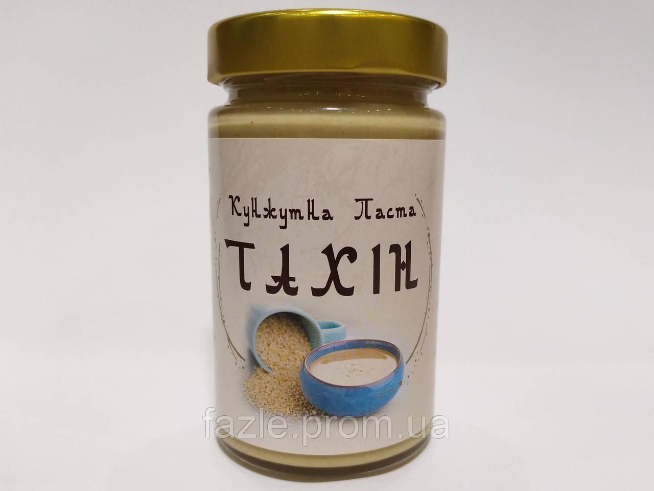Тахинная (кунжутная) паста 300мл, натуральная без добавок