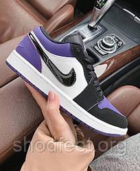 Женские кроссовки Air Jordan 1 Low Court Purple