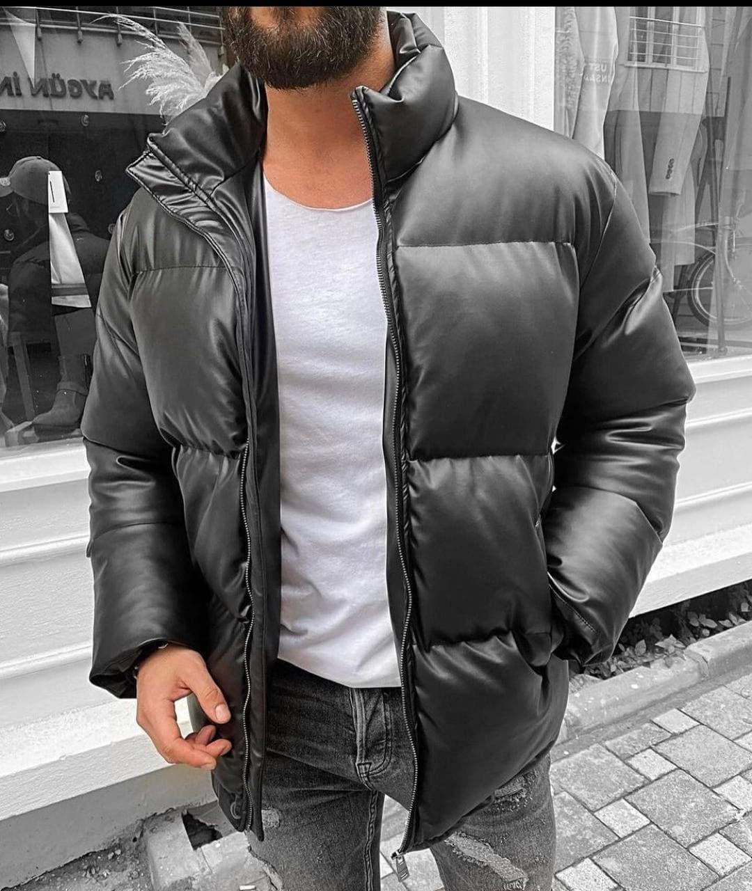 Чоловіча куртка. Стильна куртка. Кожанка. Хіт сезону!