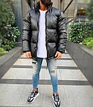 Чоловіча куртка. Стильна куртка. Кожанка. Хіт сезону!, фото 2