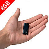 Міні диктофон з активацією голосом Savetek 200 8 годин запису (100301-1), фото 2