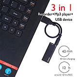 Диктофон с активацией голосом Savetek 200 8 Гб 8 часов записи (100301-2), фото 6