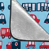 Килимок для пікніка Spokey PICNIC CARS 130х150 см Різнобарвний, фото 2
