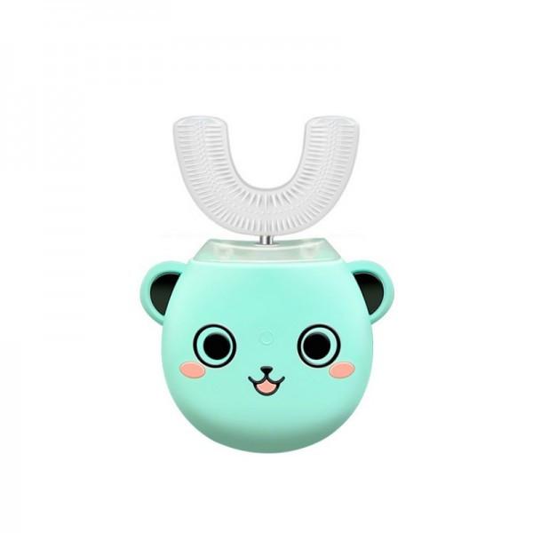 Розумна електрична зубна щітка капа з автоматичною стерилізацією BeWhite Дитяча М'ятна (182)