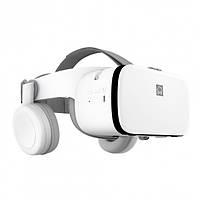 3D Очки шлем виртуальной реальности BOBO VR Z6 с пультом дистанционного управления Белые