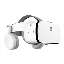 3D Окуляри шолом віртуальної реальності BOBO VR Z6 з пультом дистанційного управління Білі