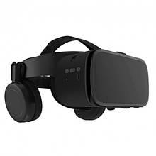 3D Окуляри шолом віртуальної реальності BOBO VR Z6 з пультом дистанційного управління Чорні