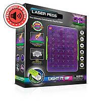 Конструктор со светодиодами Laser Pegs (Лазер Пегс) 3D Световая панель