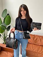 """Сумка жіноча 4-в-1 молодіжна, розміри в описі """"MILANA"""" недорого від прямого постачальника"""