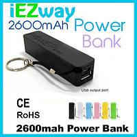 Внешний аккумулятор Power Bank 2600 mAh