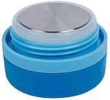 Термос пищевой детский Pinkah TMY-3343 450 мл Синий, фото 4