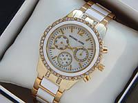 Женские наручные часы Michael Kors, золото, с рабочими дополнительными циферблатами, премиум, фото 1