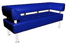 Диван-офис Тонус Sentenzo 1600x600x700 мм Синий (2398245422)