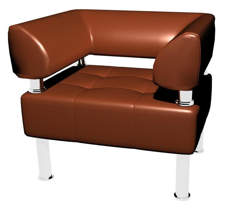 Кресло Sentenzo Тонус Светло-коричневый (2236125722)