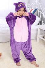 Пижама детская Kigurumba Кошка Луна S - рост 105 - 115 см Фиолетовый K0W1-0078-S, КОД: 1775871