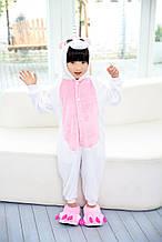 Кигуруми детская Kigurumba Единорог с крылышками M - рост 115 - 125 см Бело-розовый K0W1-0024-M, КОД: 1839505